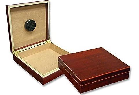 Einsteiger Zigarren-Humidor Cherry für 30 Zigarren, inkl. Befeuchtungssystem