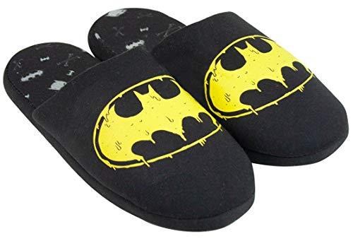 Official Brand DC Comics Batman Logo Men's Slippers (EU 45)