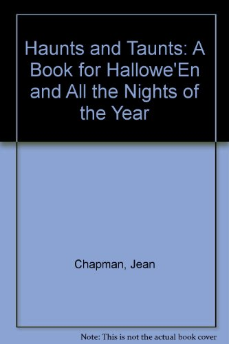 Book for Hallowe'En and All the Nights of the Year (Chapman Halloween)