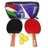 Racchetta ping pong ● 3 Palline da Ping Pong Incluse ● 2 Table Tennis Rackets …