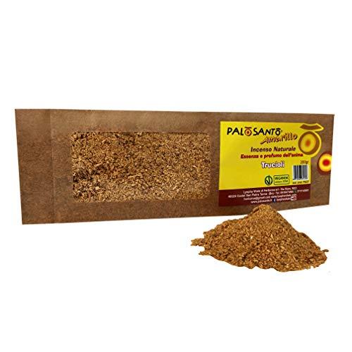 Virutas de Palo Santo - Variedad Amarillo 200 Gr - Incienso Natural y Original de Calidad chamánica, Perfume para Yoga, meditación, relajación, purificación - Bursera Graveolens