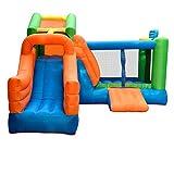 GUO XINFEN Toboganes inflables para niños Parque de Interior y al Aire Libre Área de Juegos para niños Trampolín de Juguete Grande Trampolín