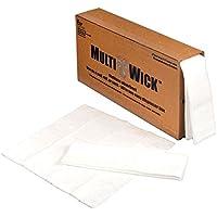 Esp WMW - 40 cm x 15.2 m olio solo assorbente multi-stoppino - bianco