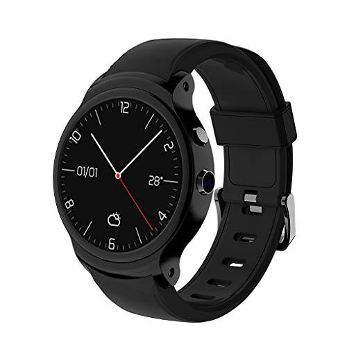 bloatboy | I3 IP67 Wasserdichter Multifunktions Smartwatch - Bluetooth 4.0 1,5 Zoll MTK6580A Quad Core 1,3 GHz Android 5.1 3G Smartwatch 500mAh 2,0 Megapixel Kamera Armbanduhr (Schwarz)