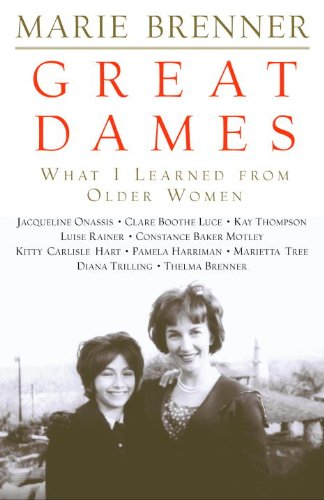 Great Dames: What I Learned from Older Women (English Edition) -