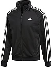 adidas ESS 3S Ttop Tri Camiseta, Hombre, Negro/Blanco, XS