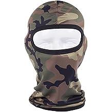 WildGuarder Quick - Dry e Maschere passamontagna caldo inverno a caccia in passamontagna cappelli bicicletta piena maschera (BBA12)