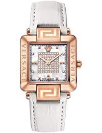 Versace 88Q80SD97F S001 - Reloj de cuarzo unisex, color blanco
