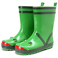 FRF Rain Boots- Creative Cute Frog Children