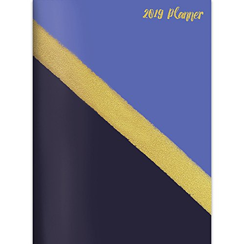 Gold 2019 Monthly Planner -