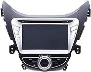 Magic Touch 8 Inch Car GPS and DVD for Hyundai Elantra - Model - 2011-13