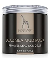 Mother Nature – Dead Sea Mud Mask || Facial Treatment with Detoxifying Face Mask for Clear Skin || Against Acne & Blackheads || Dead Sea