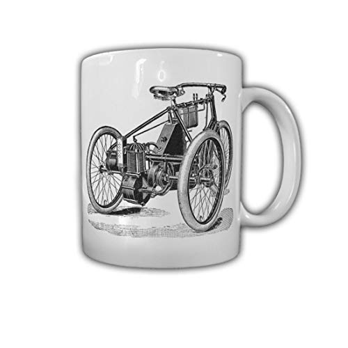 De Dion Oldtimer Frankreich Dreirad Einzylinder Werk Hersteller - Tasse #26761