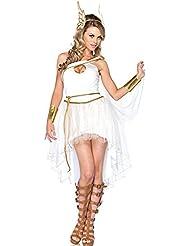 Ladie de la diosa griega de Cosplay disfraz Fancy vestido niñas Blanco Hada de Halloween etapa Fiesta Trajes