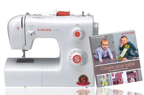 Singer 041250 Machine à coudre Initiale 85 W + livre Coudre pour Bébé