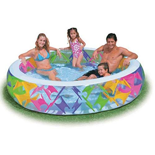 gengyouyuan Billard Spielen Aufblasbarer Pool für Familien Baby Planschbecken (229 * 56CM)