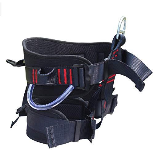 HWTZ Imbracatura da Alpinismo per Arrampicata in Corda Doppia Imbracatura per metà Corpo, Cintura di Sicurezza per Il Soccorso, Cintura da Lavoro Aerea