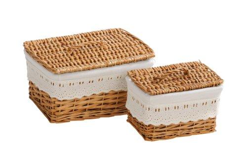 weidenkorb deckel gebraucht kaufen nur 2 st bis 65. Black Bedroom Furniture Sets. Home Design Ideas