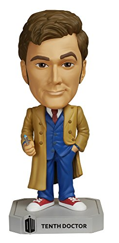 FunKo Wacky Wobbler: Doctor Who - Dr #10 Toy Figure