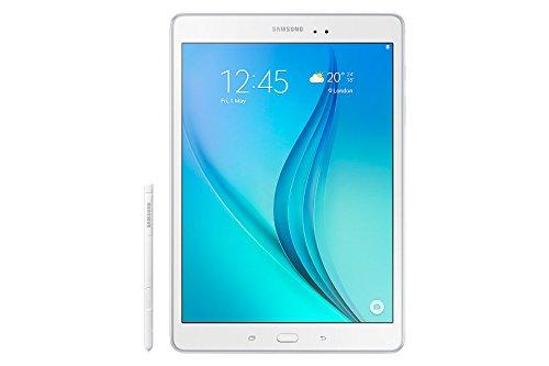 Samsung Galaxy Tab A - Tablet de 9.7 pulgadas con S-Pen (WiFi, Procesador Quad-core APQ 8016, 2 GB de RAM, 16 GB de almacenamiento, Android 5.0 Lollipop), color blanco