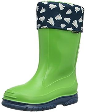 Romika Eisbär | PVC Kinder Regenstiefel | Bunte Unisex-Gummistiefel für Mädchen und Jungen | Gefüttert und schadstofffrei