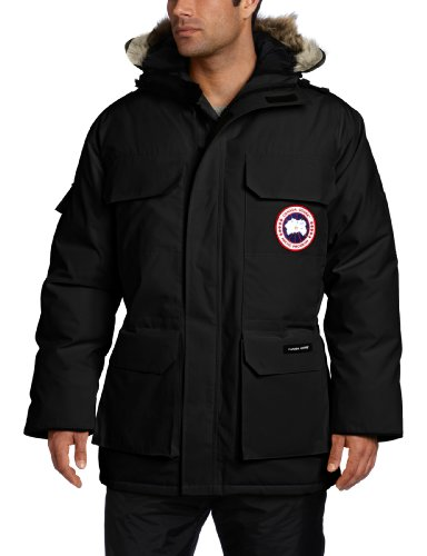 Canada Goose Herren Expedition Parka, Black, XL