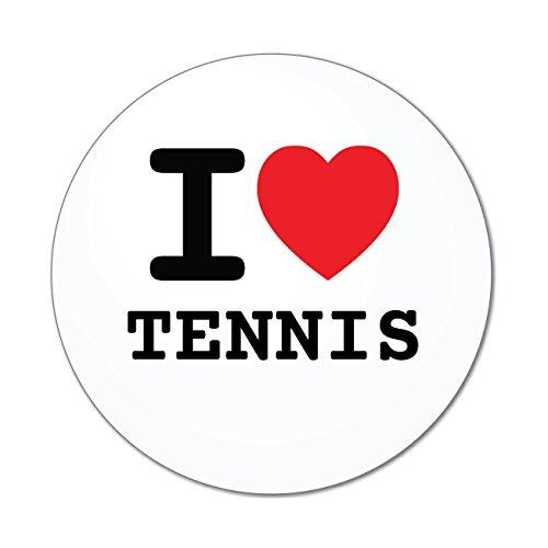 JOllify Aufkleber - Tennis - Farbe: Design: I Love - Ich Liebe