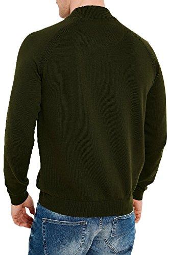Threadbare Herren Jumper Pullover schwarz schwarz Small salbeigrün