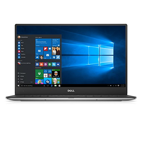 Dell XPS 13 13.3-Inch Laptop (Silver/Black) -  (Intel Core i7-6560U, 8 GB, 256 GB, Intel Iris Graphics, BT, QHD InfinityEdge, Touch, Windows 10)