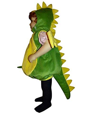 Seruna Drachen-Kostüm, F82/00 Gr. 86-92, für Klein-Kinder, Babies, Drache Kind Drachen-Kostüme für Fasching- Karneval-, Kleinkinder-Karnevalskostüme, Kinder- Geburtstag- Weihnachts- Geschenk-e