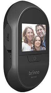 """Brinno SHC500 14 Camera Spioncino Digitale Peephole per Porte con Foto/Videocamera e Monitor Interno da 2.7"""", Nero"""