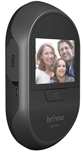 Brinno SHC500 14 - Digital Door Viewers (1,4 cm, Negro, 4,3 cm, 8 cm, AA, 90°)