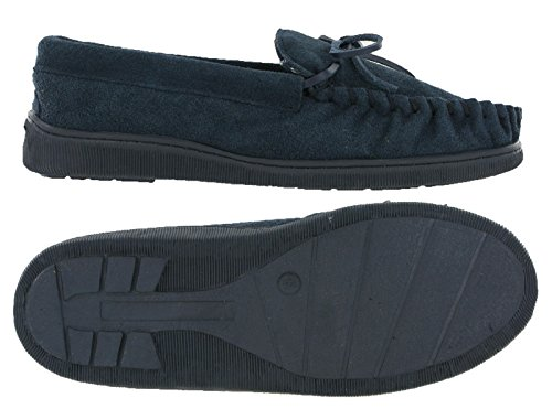 Moccasins , Chaussons homme Bleu Marine