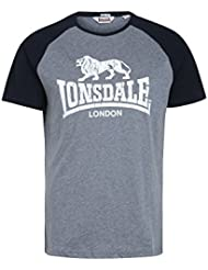 Lonsdale London Hombres Ropa superior / Camiseta Coldstream