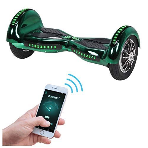 Robway W3 Hoverboard - Das Original - Samsung Marken Akku - Self Balance - 22 Farben - Bluetooth - 2 x 400 Watt Motor - 10 Zoll Luftreifen*