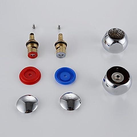 KES PTS-CH200A1 Kit têtes de robinet 1/4 de tour et