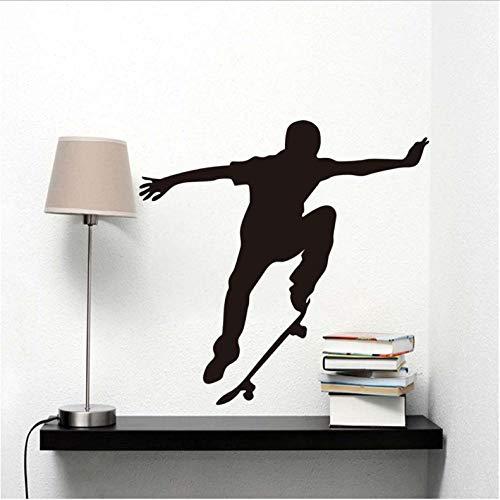 Wawjmr Fashion Skate Wall Decal Vinyl Stickers