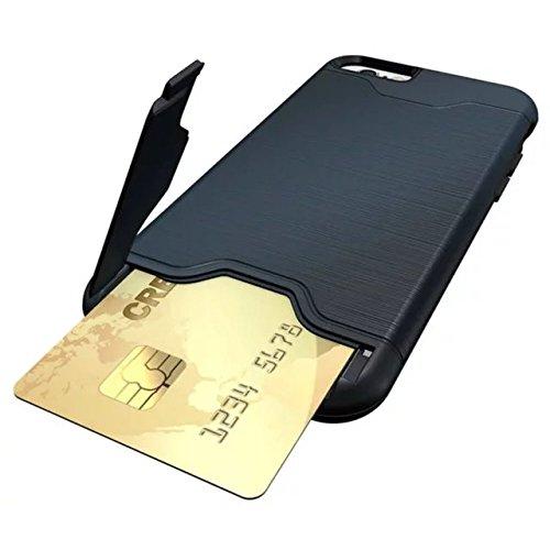 6 iPhone Case, Valenth Hybrid Festplatte zurück Hülle mit Ständer Etui Shell Cover für iPhone 6 color 1