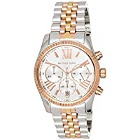Michael Kors Lexington Women's Silver Dial Stainless Steel Band Watch - MK5735