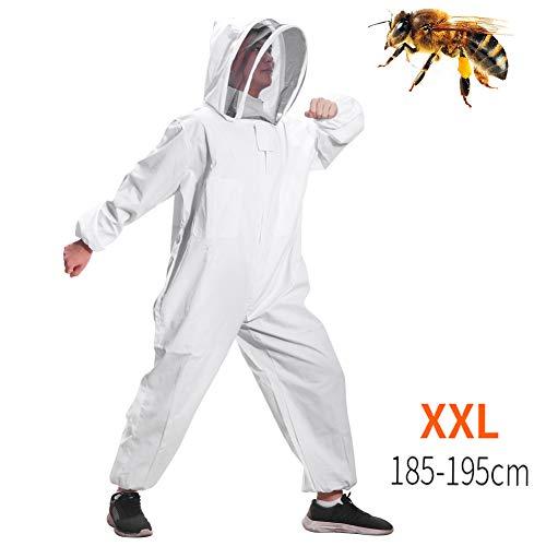 FORNORM Tuta da apicoltore, Velo da apicoltura Tuta da apicoltura Adatto a apicoltori principianti e commerciali (XXL)