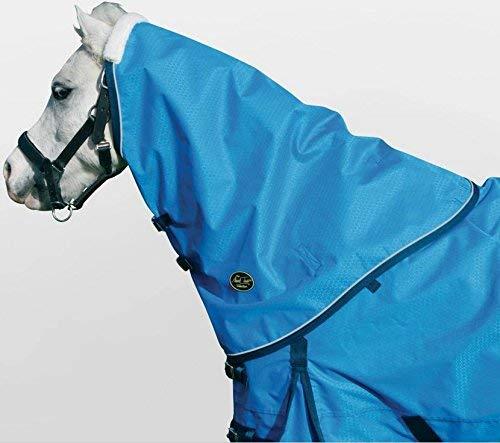 Mark Todd 237174 Pony Halsteil für Regendecke leicht, OS, Himbeere/grau