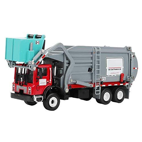 Tnfeeon 1:24 Maßstab Mini Materialtransport LKW-Modell, Simulation Legierung Druckguss LKW-Modelle Baufahrzeug Spielzeug für Kinder über 3 Jahre alt