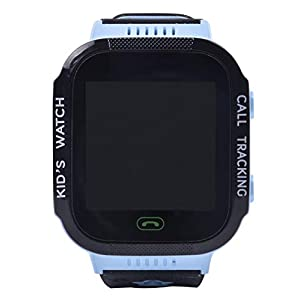 Aivtalk Smart Watch für Kinder Telefon SOS Notruf Wecker Armbanduhr Touchscreen Anti-Verlust Smartwatch (Blau/Rosa)