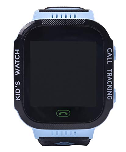 Aivtalk Smart Watch für Kinder Telefon SOS Notruf Wecker Armbanduhr Touchscreen Anti-Verlust Smartwatch (Blau/Rosa) - Touch-screen-wecker