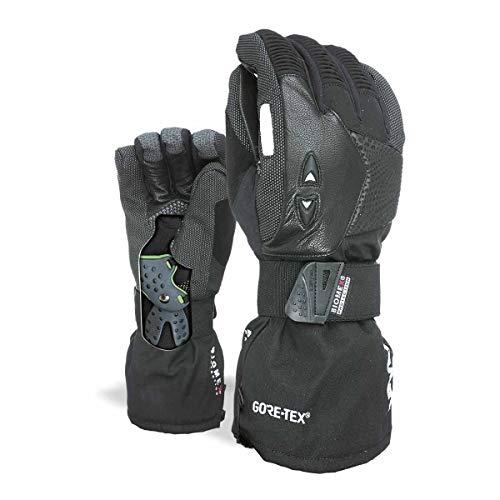 Pipe Snowboard Handschuhe (Level Herren Super Pipe Gore-Tex Handschuhe, Black, 8)