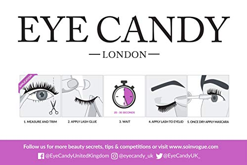 9a737edecce Zoom IMG-3 eye candy strip lashes multipack