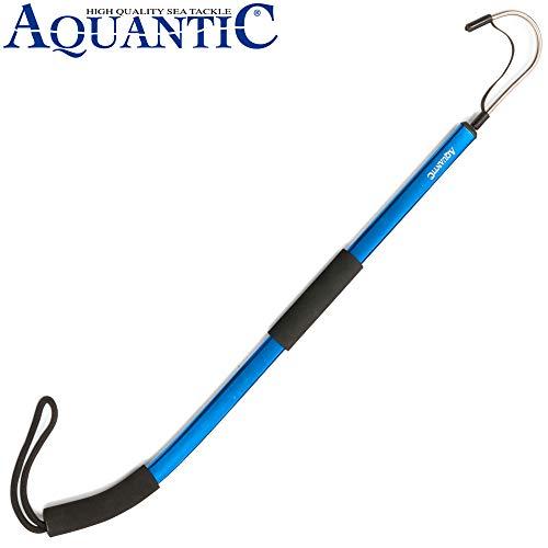 Buttl/öffel in drei Dekoren 2 Haken Gr/ö/ße 1//0 Vorfach 0,50mm//0,40mm Aquantic Flatfish Spoon L/änge 110cm