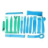 qishengshengwukeji Attrezzi Carrozzeria Auto Attrezzi per Auto Car Tool Kit Strumento di Taglio Strumenti di rimozione del Rivestimento Green+Blue