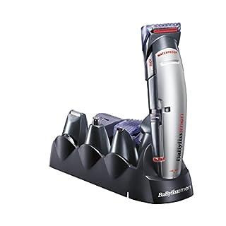 BaByliss X10 - Cortapelos para cara, cabello y cuerpo, con cuchillas profesionales W-tech y 10 accesorios, negro y gris (B00BJH46JE)   Amazon Products