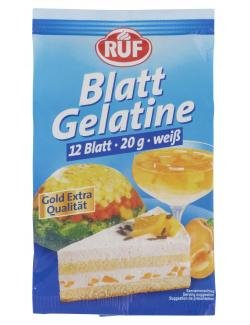 RUF Blatt Gelatine weiß 20g